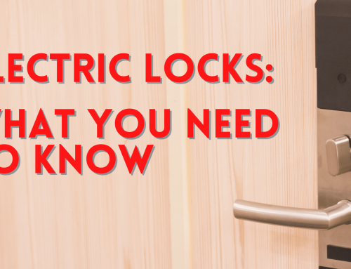 Electric locks: What You Need to Know